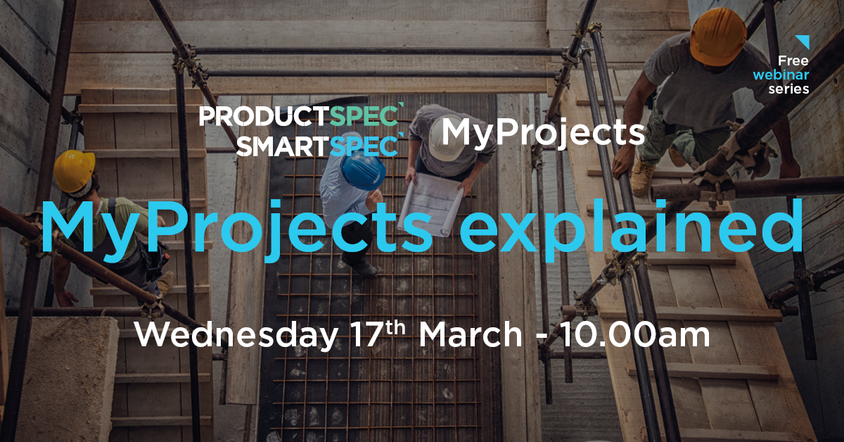 MyProjects webinar 1 - MyProjects explained